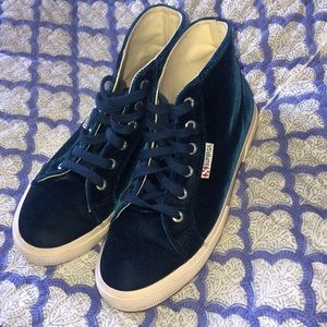 Superga Women's 2795 Velvettvw Fashion Sneaker
